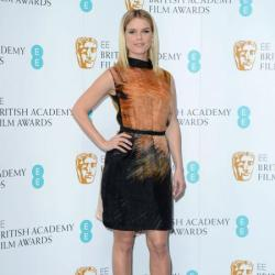 Alice Eve looks beautiful in Fendi
