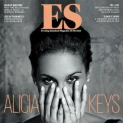Alicia Keys on the cover of ES magazine