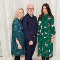 Alison and Mike Battle and Lisa Snowdon