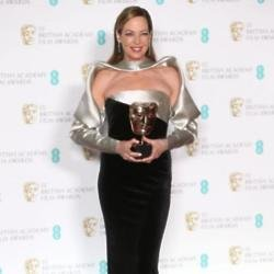 Allison Janney at the BAFTAs