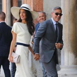 Amal Clooney impressed everyone with her stylish wedding outfits