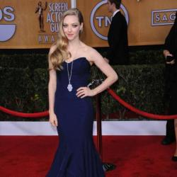 Amanda Seyfried looked beautiful in Zac Posen