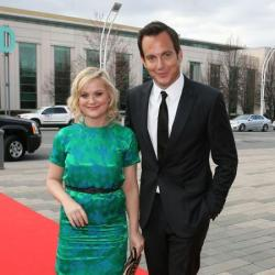 Will Arnett with estranged wife Amy Poehler