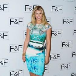 Amy Willerton at the F+F fashion show