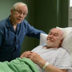 Andrew Sachs and Timothy West courtesy of BBC
