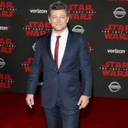 Andy Serkis at The Last Jedi world premiere