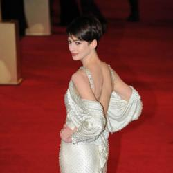 Anne wowed in her backless Givenchy piece