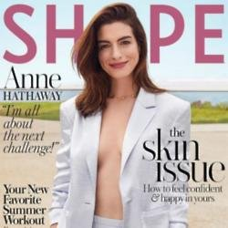 Anne Hathaway for Shape magazine