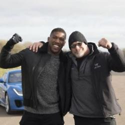 Anthony Joshua and Bill Goldberg