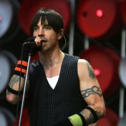 Red Hot Chili Peppers singer Anthony Kiedis