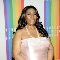 Aretha Franklin at the 35th Annual Kennedy Center Honors reception