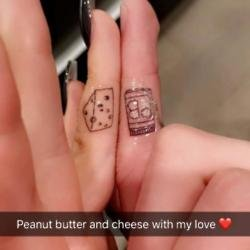 Ariel Winter and her boyfriend have matching tattoos