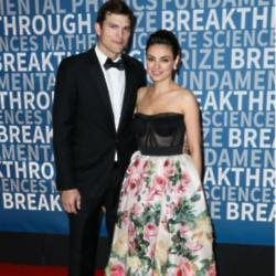 Ashton Kutcher and MIla Kunis at Breakthrough Prize Awards