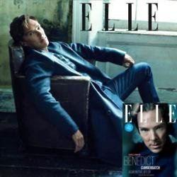 Benedict Cumberbatch in ELLE UK