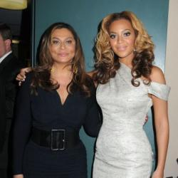 Tina Lawson and Beyonce