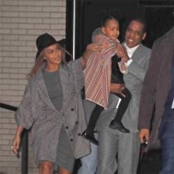 Beyonce, Blue and Jay-Z