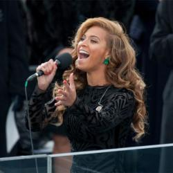 Beyonce performing in Washington DC