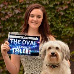 BGT winners Ashleigh Butler and Pudsey