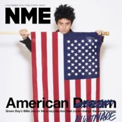 Billie Joe Armstrong's NME cover