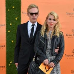 Laurence Fox and his ex-wife in 2012