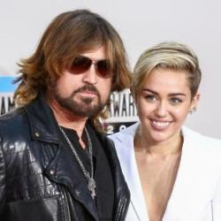 Billy Ray and Miley Cyrus