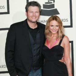 Blake Shelton and ex-wife Miranda Lambert