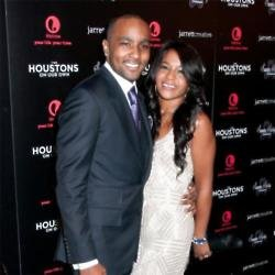 Nick Gordon with Bobbi Kristina Brown