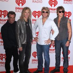 Bon Jovi with Richie (right)
