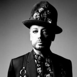 Boy George in the Dior Homme campaign