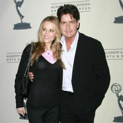 Brooke Mueller and Charlie Sheen in 2011