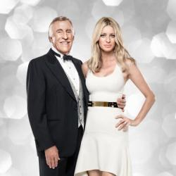 Strictly Come Dancing presenterse Sir Bruce Forsyth and Tess Daly