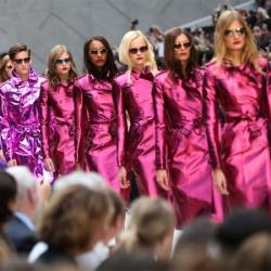 Burberry at London Fashion Week 2012