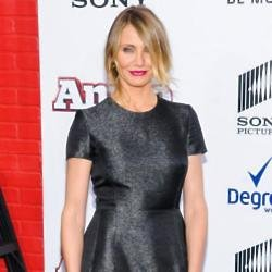 Cameron Diaz at the Annie premiere 2014