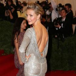 Cameron Diaz at the Met Costume Institute Gala