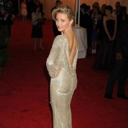 Cameron Diaz at the Met Ball Gala