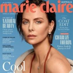 Charlize Theron for Marie Claire Australia