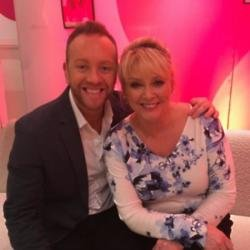 Dan Whiston and Cheryl Baker