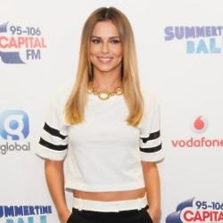 Cheryl Fernandez Versini opts for the super sleek look