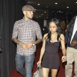 Chris Brown and girlfriend Karrueche Tran