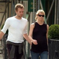 Chris Martin and Gwyneth Paltrow in 2004
