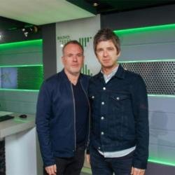 Noel Gallagher and Chris Moyles