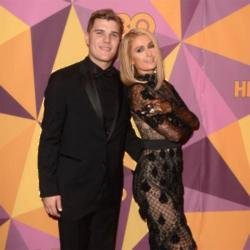 Chris Zylka and Paris Hilton