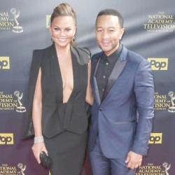 Chrissy Teigen and John Legend