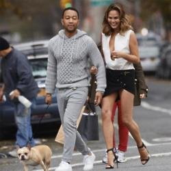 Chrissy Teigen's dog has heart failure