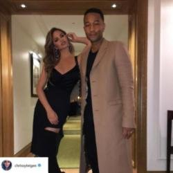 Chrissy Teigen and John Legend (c) Instagram