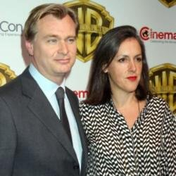 Christopher Nolan and wife Emma Thomas at CinemaCon