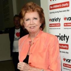 The late Cilla Black