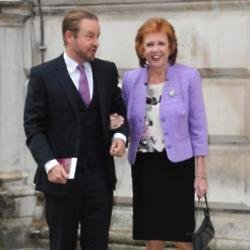 Robert Willis and Cilla Black