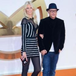 Matthew Vaughn and wife Claudia Schiffer