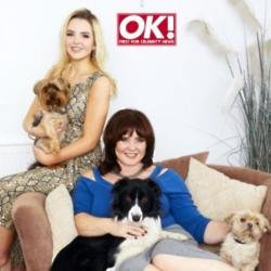 Coleen Nolan and daughter Ciara in OK! magazine